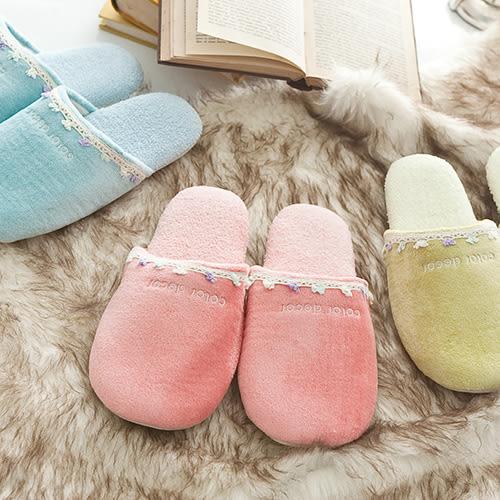 UCHINO 毛巾刺繡拖鞋 觸感細緻 居家鞋 室內拖 速乾特性 抗菌防臭加工認證 腳長23-25CM 日本內野