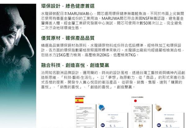 【甄禾家電】七字管型廚房立式龍頭 S5619 廚房健康無毒水龍頭 台灣製造外銷國外 廚房設備