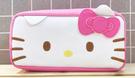 【震撼精品百貨】Hello Kitty 凱蒂貓~Hello Kitty日本SANRIO三麗鷗KITTY化妝包/筆袋-大臉粉*12956
