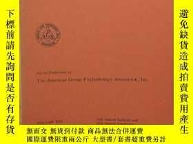 二手書博民逛書店INTERNATIONAL罕見JOURNAL OF GROUP PSYCHOTHERAPY(心理治療雜誌 1969