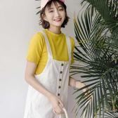 新款韓版寬鬆學生白色顯瘦百搭闊
