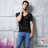 《MORINO摩力諾》高效能吸濕排汗涼感衣-黑色