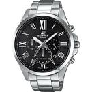 CASIO 卡西歐 EDIFICE 羅馬計時手錶 EFV-500D-1A / EFV-500D-1AVUDF
