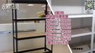 (收納空間)消光黑免螺絲角鋼台北桃園高雄LY品牌免螺絲角鋼物料架貨架倉儲架置物架書架水族架
