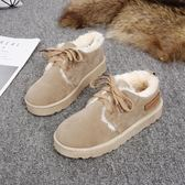 雪靴 冬季新款雪地靴女韓版防滑加絨保暖棉鞋