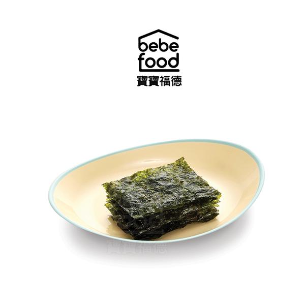 bebefood 寶寶福德 低鈉原味海苔(2g*10包)【佳兒園婦幼館】
