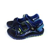G.P(GOLD PIGEON) 涼鞋 運動型 藍色 童鞋 大童 G1697BW-20 no494