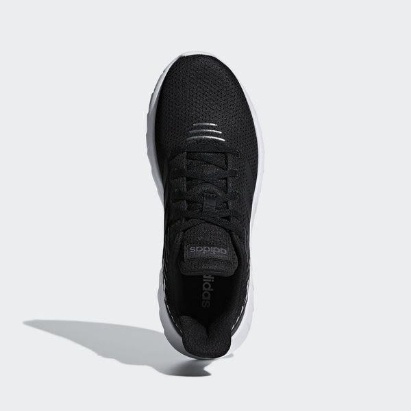 Adidas Asweerun [F36339] 女鞋 慢跑 運動 休閒 舒適 黑 白 愛迪達