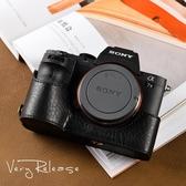 牛皮索尼A7Rii A7M2 A7II A72 A7RM2 A7R2 皮套相機包手柄保護套  YJT
