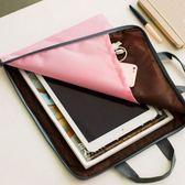 蘋果 平板 3C 文件 收納袋 手提袋 帆布A4文件袋 資料袋-艾發現