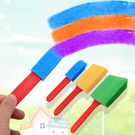 【BlueCat】長型冰棍海綿印章(3入) 海綿 圍裙 海綿刷 繪畫 教具教材 海綿刷具