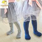 兒童愛心提花褲襪