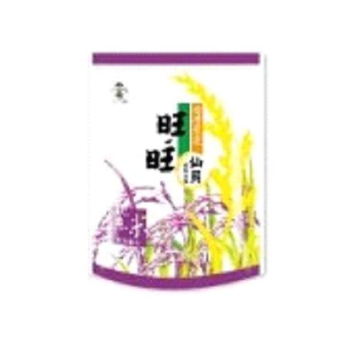 旺旺仙貝台灣嚴選紫米-原味輕海鹽78g【愛買】