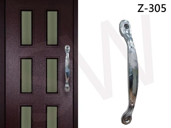 Z-305白金把手 160mm 門把 手把 把手 取手 握把 拉手 引手 抽屜把手 大門 鋁門 鋁門窗 紗門
