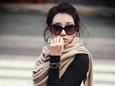 歐美流行黑白鏡框太陽眼鏡  CH012【櫻桃飾品】【20006】