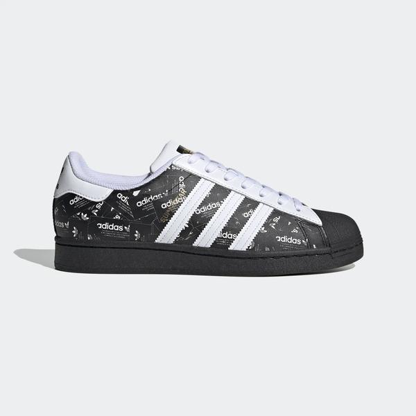 Adidas Superstar [FV2820] 男鞋 運動 休閒 慢跑 貝殼 復古 經典 情侶 愛迪達 黑 白