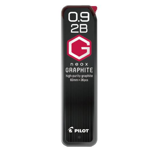 [奇奇文具]【百樂 PILOT 筆芯】HRF9G-20 2B 超級G 自動筆芯 (0.9mm)