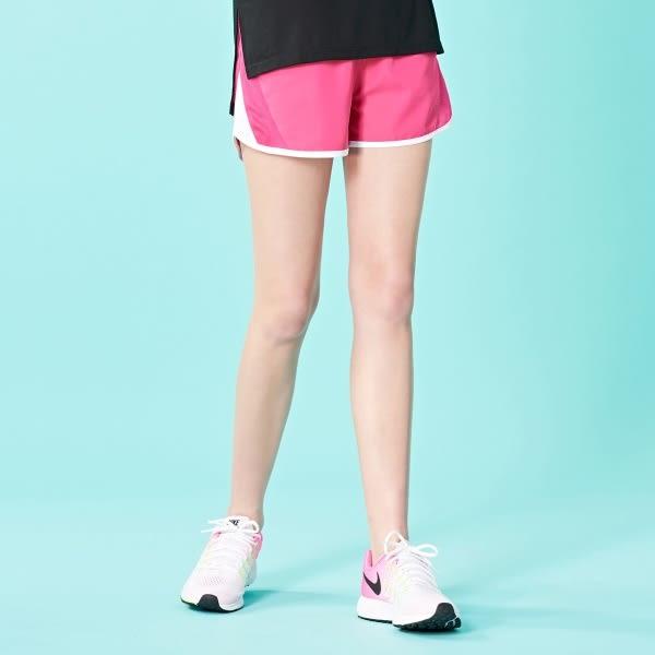 短褲 亮彩透氣短褲【LWA016】.CACO