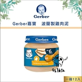 Gerber嘉寶〔波蘭製雞肉泥,80g〕(一箱12入) 產地:波蘭