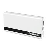 Energizer 勁量 UE10054 MicroUSB 與 TypeC 雙孔輸入 10000mAh 白色 行動電源