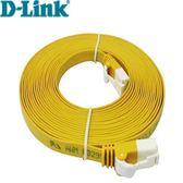 3米 Cat.6 UTP高速扁平網路線(黃色)