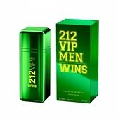 Carolina Herrera CH 212 VIP MEN WINS 綠色奇蹟 限量版 男性淡香精 100ml【UR8D】