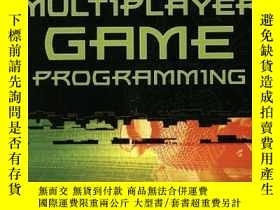 二手書博民逛書店Multiplayer罕見Game Programming W cd (prima Tech s Game Dev