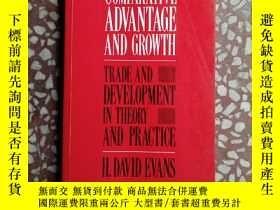 二手書博民逛書店Comparative罕見ADVANTAGE AND GROWTH 精裝版英文(比較優勢與增長)Y10445