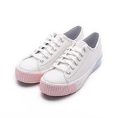 KEDS TRIPLE KICK AMP Wave皮革厚底餅乾鞋 白 9211W133233 女鞋