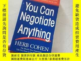 二手書博民逛書店You罕見Can Negotiate Anything:The Worlds Best Negotiator Te