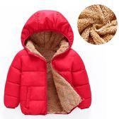 男童棉衣新款寶寶冬嬰兒棉襖兒童加絨加厚夾棉外套KfV1nmFGjk