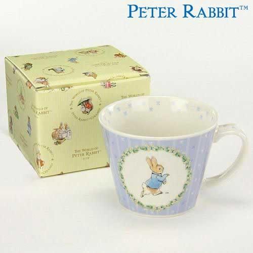 【クロワッサン科羅沙】Peter Rabbit~ 經典比得兔 PI 大馬克杯(花園)