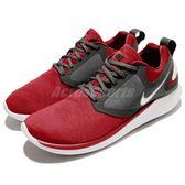 【五折特賣】Nike 慢跑鞋 Lunarsolo 紅 灰 避震透氣 基本款 運動鞋 男鞋【PUMP306】 AA4079-602