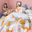 床包 / 雙人加大【希涅克】含兩件枕套 60支天絲 戀家小舖台灣製AAU301