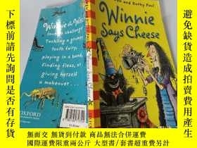 二手書博民逛書店Winnie罕見Says Cheese:溫妮說奶酪Y200392