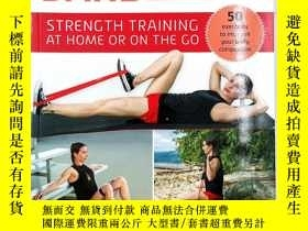 二手書博民逛書店Resistance罕見Band Workouts: 50 Exercises for Strength Trai