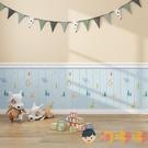 卡通泡沫墻紙自粘臥室溫馨兒童墻貼自貼家用防撞壁紙【淘嘟嘟】