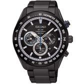【人文行旅】SEIKO | 精工錶 SSC591P1 Criteria 太陽能 藍寶石水晶鏡面 計時碼錶