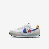 Nike Waffle Trainer 2 BP [DM7215-141] 大童 休閒鞋 運動 經典 復古 童趣 白 藍