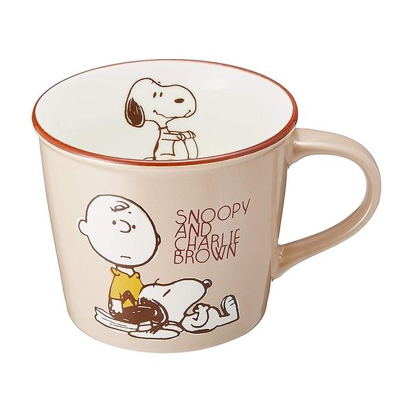 大西賢製販 繽紛馬克杯 300ml SNOOPY史努比 查理布朗_OS75483