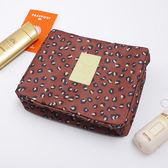 花紋外出收納盥洗包 6色 化妝包 收納袋 旅行袋 旅行洗漱包 收納包《生活美學》
