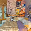 日系 背景布 臥室房間墻面裝飾大改造掛布 網美文藝掛毯【慢客生活】