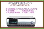 【中彰投電器】卡拉OK(USB/SD/5.1聲道)擴大機,AV-168A【刷卡分期+免運費】