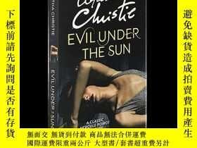 二手書博民逛書店阿加莎系列:陽光下的罪惡罕見英文原版 Evil Under the Sun (Poirot) Agatha Chr