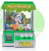 兒童抓娃娃玩具游戲糖果扭蛋小型家用投幣迷你夾公仔機    LVV8235【雅居屋】
