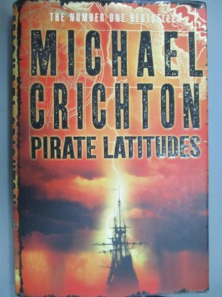 【書寶二手書T2/原文小說_QNU】Pirate Latitudes_Michael Crichton