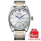 日本CITIZEN星辰 時尚光動能男腕錶 AW0084-81A 半金