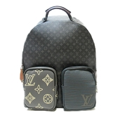 LOUIS VUITTON 路易威登 黑色經典花紋後背包 Backpack Multipocket M45455 【二手名牌BRAND OFF】