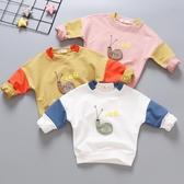 男童女童長袖t恤兒童正韓童裝寶寶秋季打底衫嬰兒衛衣秋裝1-2-3歲