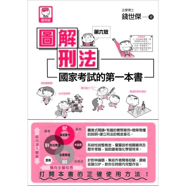 圖解刑法國家考試的第一本書(6版)